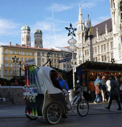 Rikscha München