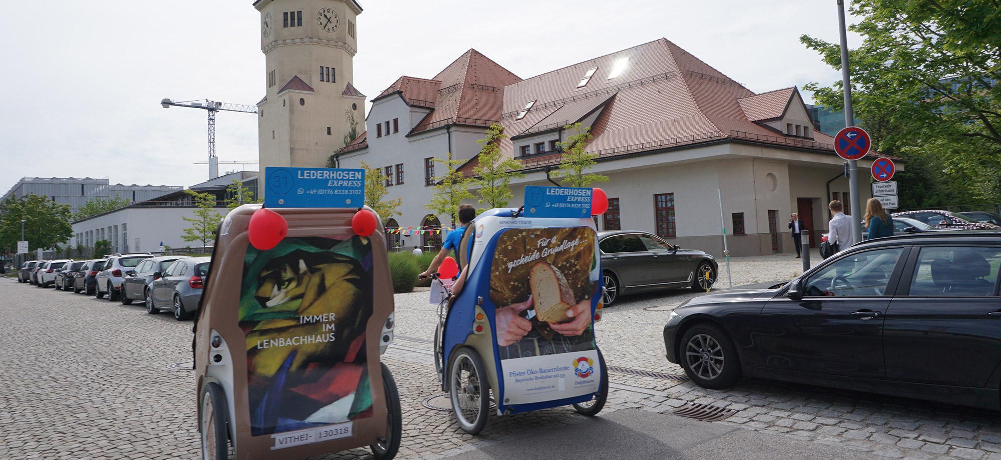 Lenbachhaus Rikschas