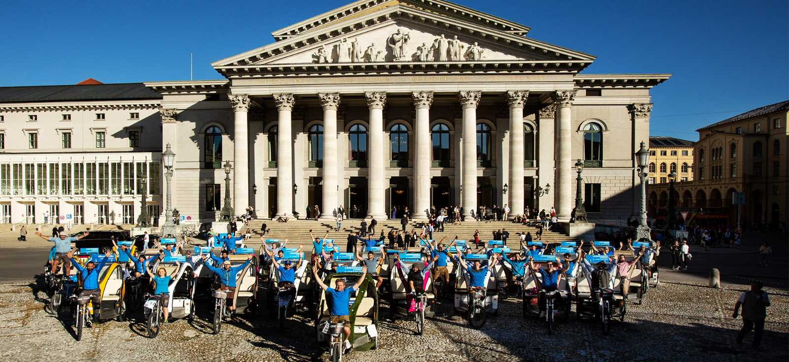 Rikscha München LE